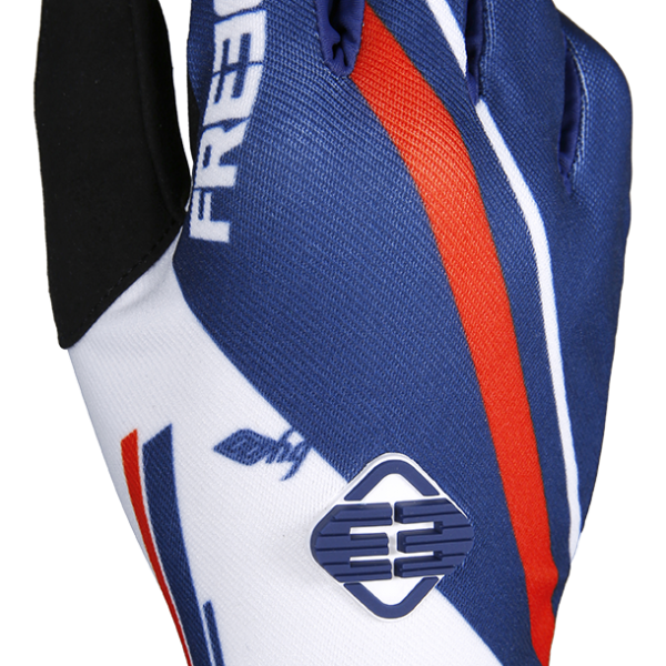 DEVO COLLEGE GLOVES - BLUE RED