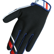 DEVO COLLEGE GLOVES - BLUE RED - BACK
