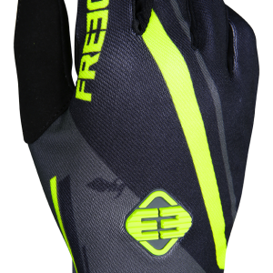 DEVO COLLEGE GLOVES - GREY NEON YELLOW