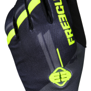 DEVO COLLEGE GLOVES - GREY NEON YELLOW - VUE2