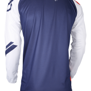 DEVO COLLEGE JERSEY - BLUE RED - BACK