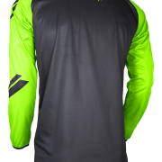 DEVO COLLEGE JERSEY - NEON GREEN - BACK
