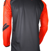 DEVO COLLEGE JERSEY - NEON ORANGE - BACK