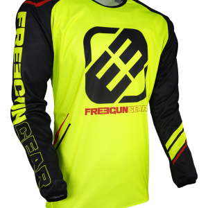 DEVO COLLEGE JERSEY - NEON YELLOW