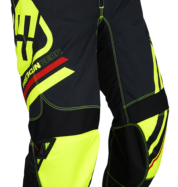 DEVO COLLEGE PANT - NEON YELLOW
