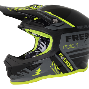 XP4 NERVE - GREY NEON YELLOW MATT